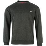 Slazenger SL férfi pulóver, sötétszürke