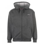 Slazenger férfi kapucnis pulóver, sötétszürke