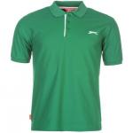 Slazenger APP férfi póló,  zöld