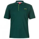 Slazenger APP férfi póló, sötétzöld