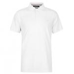 Kangol férfi galléros póló, fehér