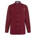 Lee Cooper kockás férfi ing, piros