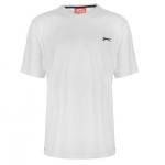Slazenger Plain férfi póló, fehér