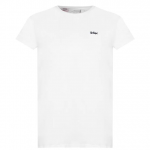 Lee Cooper Essentials férfi póló, fehér
