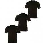 Donnay férfi V-nyakú póló triopack, fekete