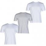 Donnay férfi pólócsomag, fehér-szürke-fehér